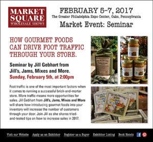 Gourmet Food Market Seminar