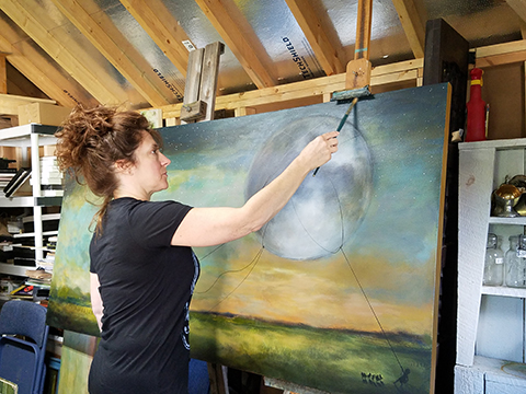 Shelly Broughton Irresistible Paintings At Market Square