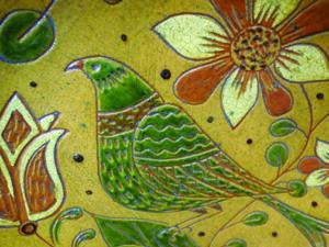 Detail of Shooner Pottery