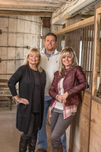 Mary, Josh and Carrie - the people behind 22 years of success at Ragon House.