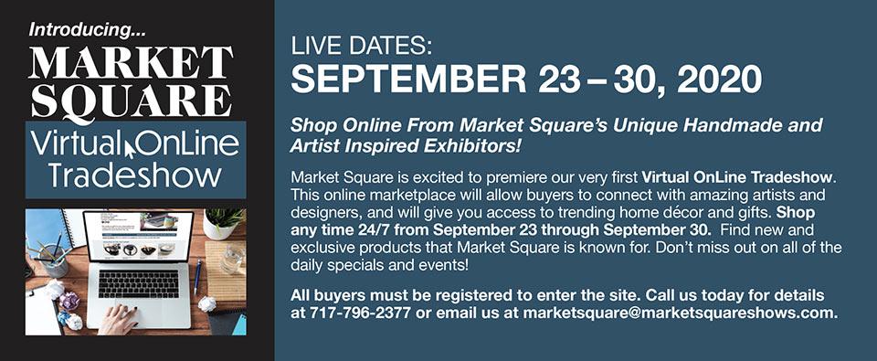 Virtual Online Tradeshow - September 23-30, 2020